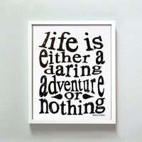 8x10 Daring Adventure print by GusAndLula on Etsy