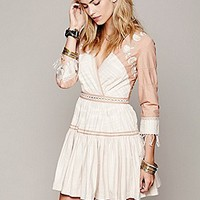 Free People  FP New Romantics Lovers Lane Ikat Dress at Free People Clothing Boutique