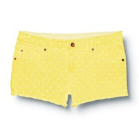 Lamrocks Yellow Swan Shorts