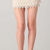 BB Dakota Macyn Lace Tiered Skirt | SHOPBOP