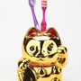 Maneki Neko Toothbrush Holder