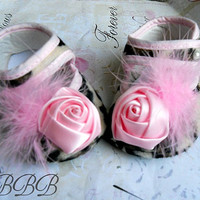 New Baby Girl Crib ShoesFancy Baby por TheBabyBellaBoutique en Etsy