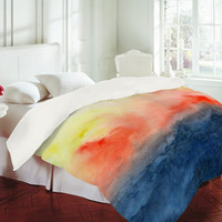 DENY Designs Home Accessories | Jacqueline Maldonado Brushfire Duvet Cover