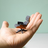 3D Printed Eames Lounge Chair by Kevin Spencer | GBlog