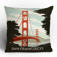 DENY Designs Home Accessories | Anderson Design Group San Francisco Throw Pillow