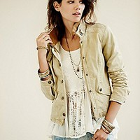 Free People  Fitted Utility Jacket at Free People Clothing Boutique