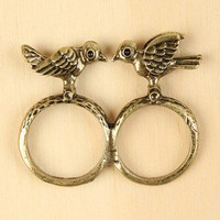 Spring Love Birds Ring