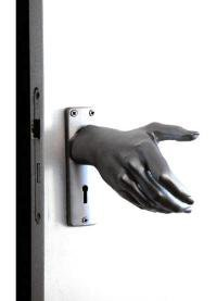 The hand(le) doorknob - StyleList