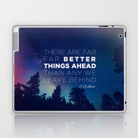 "CS Lewis ""Better Things Ahead"" Laptop & iPad Skin by Pocket Fuel"