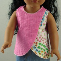 2-Piece Summer Outfit for 18-inch Doll | stitchcrazysisters - Toys on ArtFire