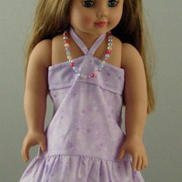 Sundress for 18-inch dolll | stitchcrazysisters - Toys on ArtFire