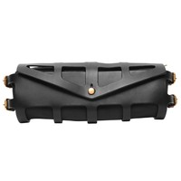 Leather Harnessed Clutch