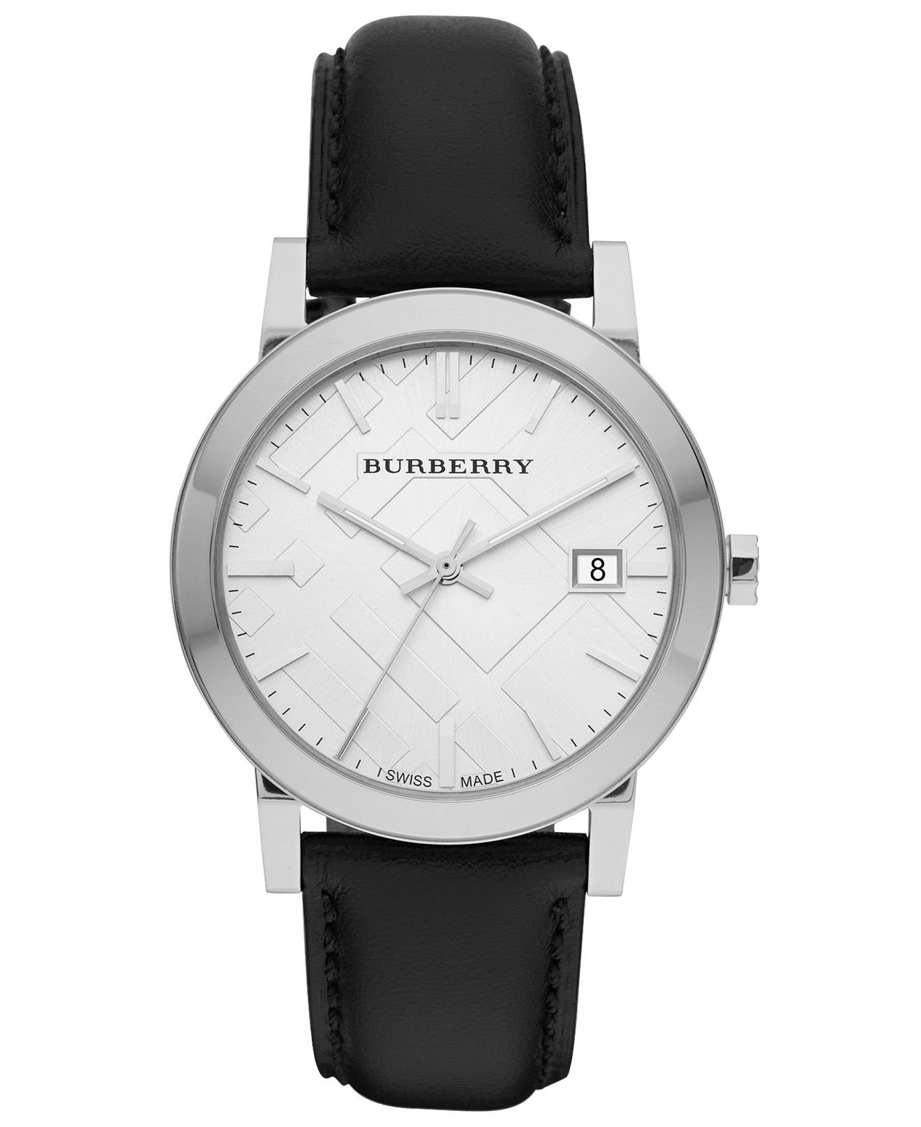 burberry s swiss smooth black from macys