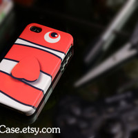 Fullcase iPhone 4 Case iPhone 4s Case iPhone 5 Case finding nemo Nemo clownfish case