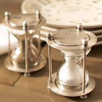 Hourglass Salt &amp; Pepper Shakers | Pottery Barn