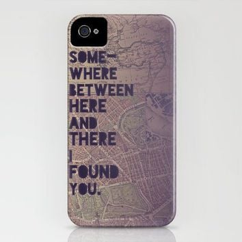 Here & There iPhone Case by Leah Flores | Society6