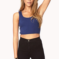 Favorite Basic Crop Top | FOREVER 21 - 2002246469