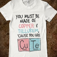 ARE YOU COPPER AND TELLURIUM
