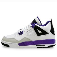 Nike Girlss 487724-108 GIRLS AIR JORDAN 4 RETRO GS