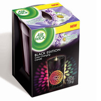 Walmart: Air Wick Black Edition Color Changing Candle, Lavender & Chamomile Scent, 4.23 oz.