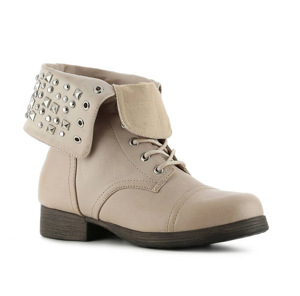 I love these boots! I've had tons of compliments. I think they are really cute and look very nice for the price. The only small issue is that they are a little narrow in the toes.
