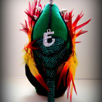SPECIAL EDITION Rasta  Swarovski Crystal  Spikes by UniqueHeelz