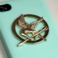 The Hunger Games Logo Mockingjay pendant light by qizhouhuang