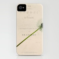a dandelion iPhone Case by Beverly LeFevre | Society6