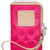 COACH LEGACY WEEKEND NYLON NORTH/SOUTH UNIVERSAL CASE - COACH - Handbags & Accessories - Macy's