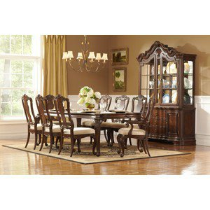 Perry Hall 7 PC Dining Set (Table, 4 Side Chairs and 2 Arm Chairs) - Homelegance | Dining sets