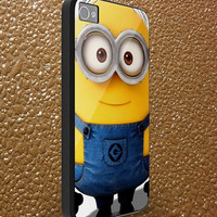 despicable me minion - iphone case cover- iPhone 4 / iPhone 4S / iPhone 5 / Samsung S2 / Samsung S3 / Samsung S4 Case Cover (AF )