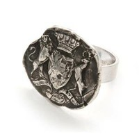 Lion and Stag Wax Seal Ring | Wax Seal Rings | Pyrrha