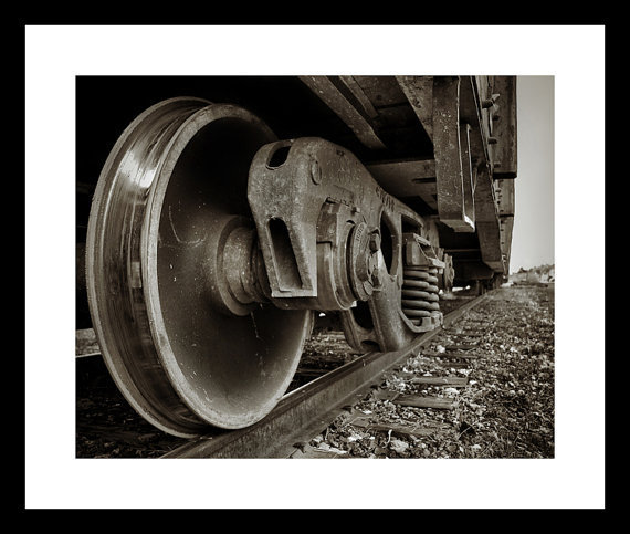 On The Tracks by FairchildPhotography on Etsy
