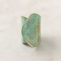 Aged Leaf Ring - Anthropologie.com