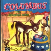 Childrens Book COLUMBUS the Exploring Burro by SandyCreekCollectables