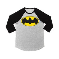 Mens Batman Raglan Tee