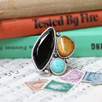 stoney point abstract ring - $14.99 : ShopRuche.com, Vintage Inspired Clothing, Affordable Clothes, Eco friendly Fashion