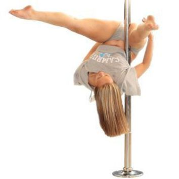 Portable Fitness Exercise Exotic Stripper Strip Spinning Pole Dance Dancing NEW