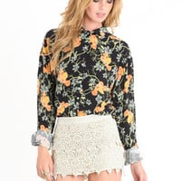 Playful Bliss Crochet Skort - $42.00 : ThreadSence.com, Your Spot For Indie Clothing  Indie Urban Culture