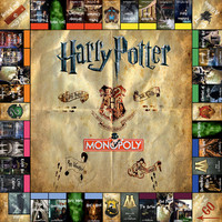Harry Potter Monopoly - Digital Download