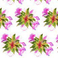 Balsam Bouquets by Alexandra Cook fabric by linandara for sale on Spoonflower - custom fabric