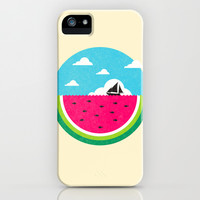 Watemelon Deep iPhone & iPod Case by Ivan Rodero