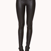 Retro Faux Leather Leggings | FOREVER 21 - 2079054768