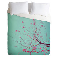 DENY Designs Home Accessories | Happee Monkee Red Stars Duvet Cover