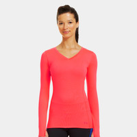 Women's ColdGear Infrared V-Neck Long Sleeve | 1242263 | Under Armour US