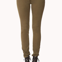 Life In Progress™ Lace-Up Skinny Jeans