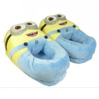 Despicable Me Plush Soft Minion Shoes Slippers Jorge Children Size - Sunning Co., Ltd:Amazon:Toys & Games