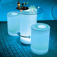 Illuminated Cocktail Table at Brookstone—Buy Now!