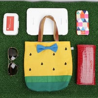 Yellow Watermelon Lunch Tote