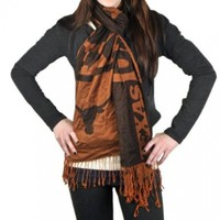 NCAA Texas Longhorns Pashmina Fashion Scarf:Amazon:Sports & Outdoors